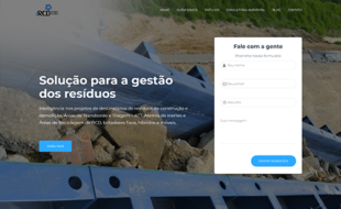 landing page criação de sites